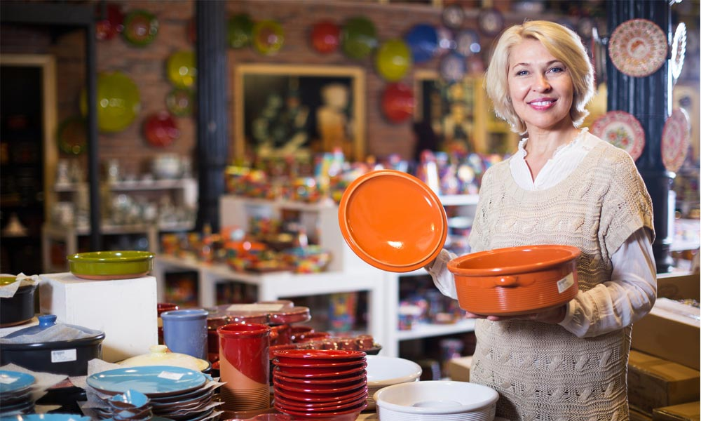 The different types of ceramic cookware