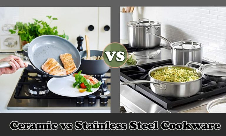 Ceramic vs Stainless Steel Cookware